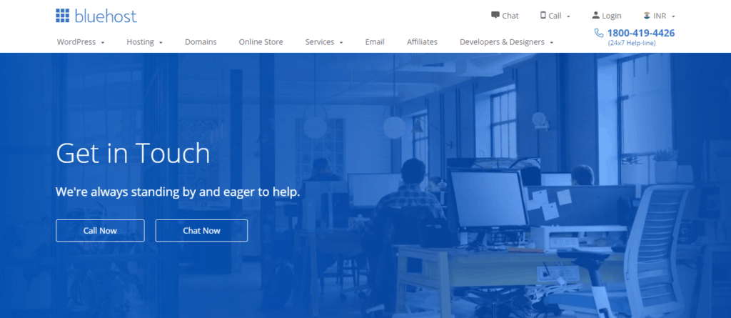 Bluehost India Support